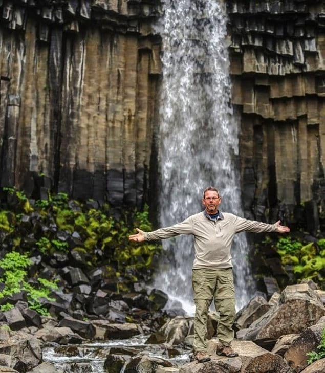 Человек, который мечтал отправиться в Исландию, сделал это в возрасте 63 лет.