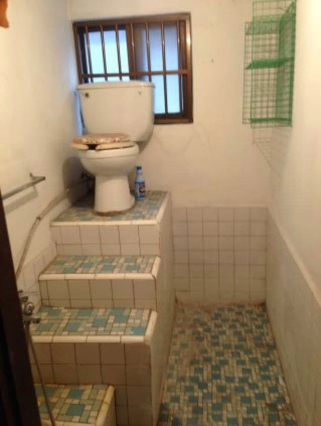 Достойный туалет для тех, кто страдает манией величия
