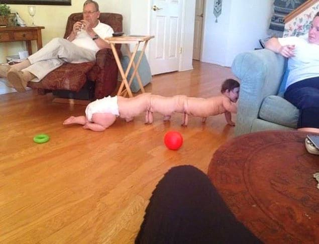 Это фото может преследовать вас в кошмарах (особенно если вы родитель)
