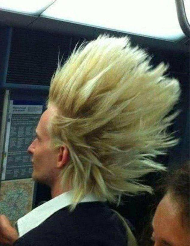Этому парню удалось добиться эффекта вентилятора, как в рекламе