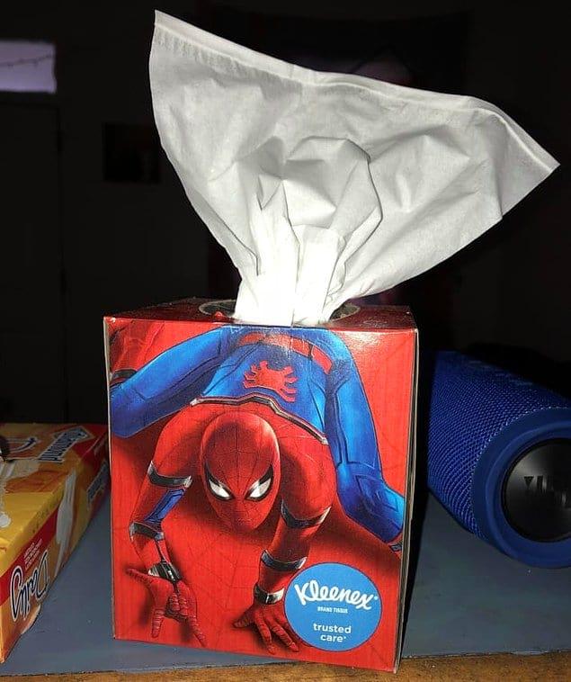 Какая-то новая суперсила Человека-паука?