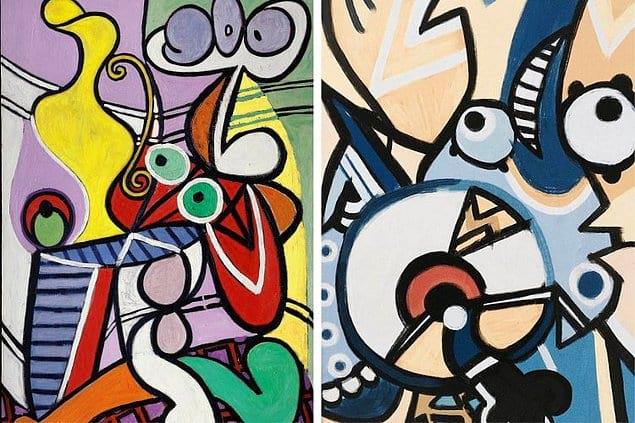 Миньоны и Пабло Пикассо