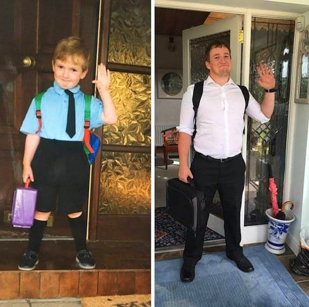 «Первый день начальной школы и последний день на педагогическом факультете»