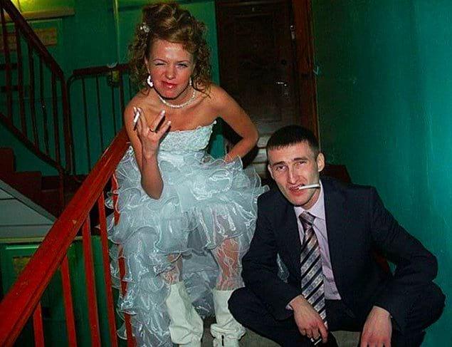 Свадьба свадьбой, а традиции никто не отменял 😆