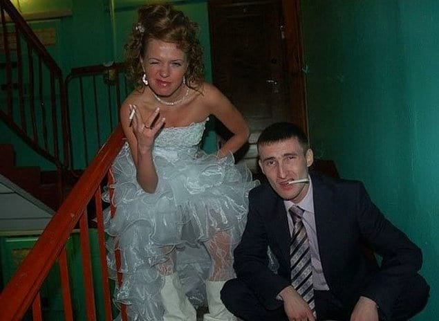 Свадьба свадьбой, но гопоту в себе подавлять нельзя...