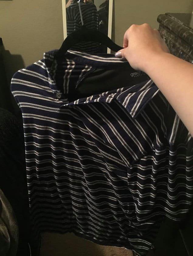 Только слабаки тратят время на то, чтобы аккуратно повесить одежду на вешалку.