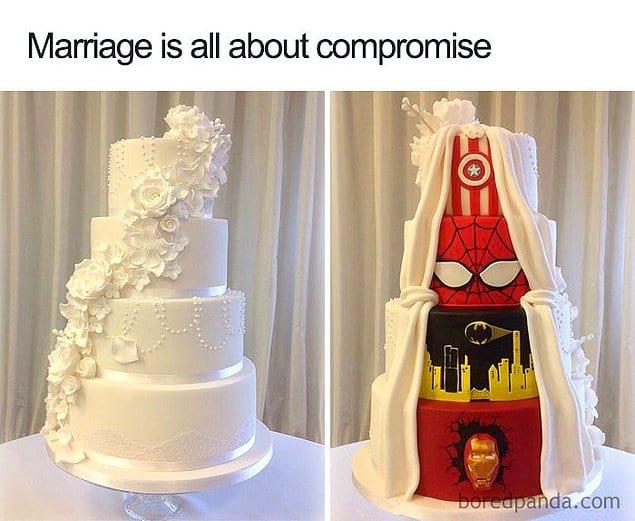 Брак - это всегда компромисс.