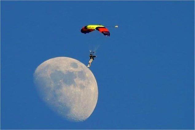 Чтобы приземлиться на Луну, не нужна ракета