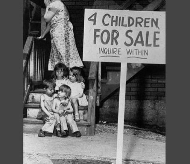 Дети на продажу...