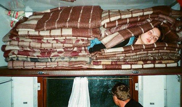 Когда попросил дополнительное одеяло...