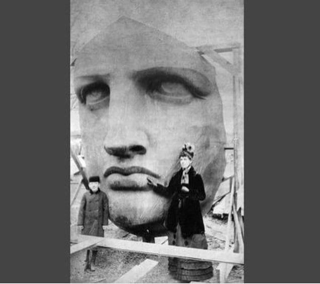 Личико статуи Свободы