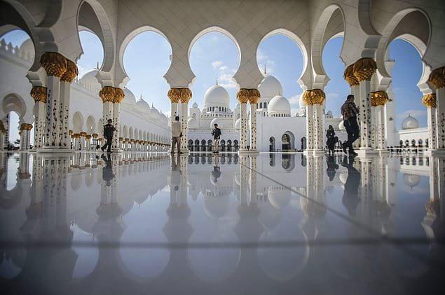 Мечеть Шейха Зайда - ОАЭ