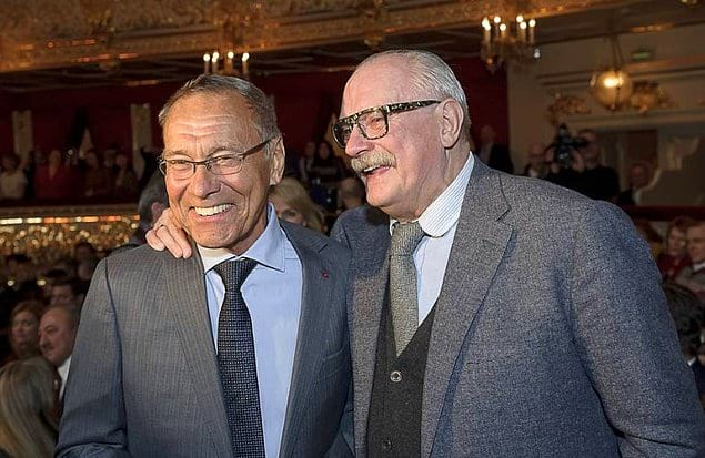 Никита Михалков и Андрон Кончаловский