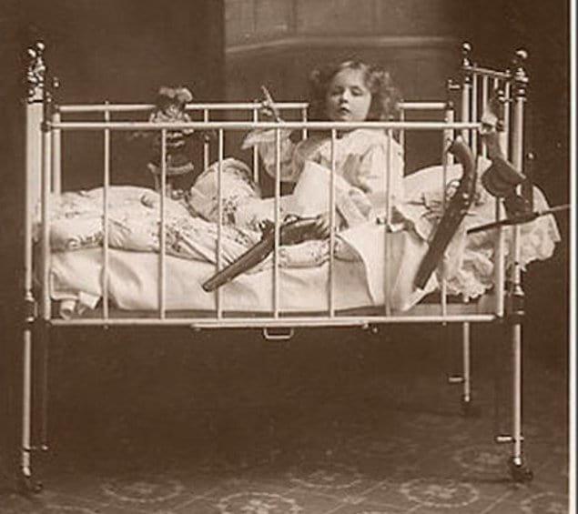 Опасная кроватка...