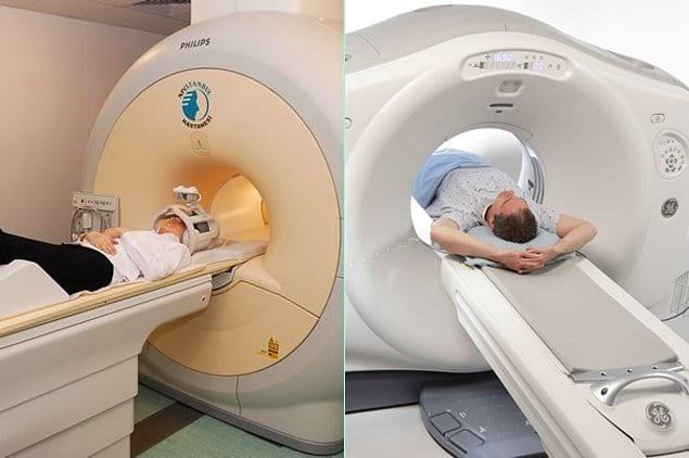 Отличие компьютерной томографии (КТ) от магнитно-резонансной томографии (МРТ)