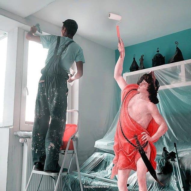 """Покраска стены"""