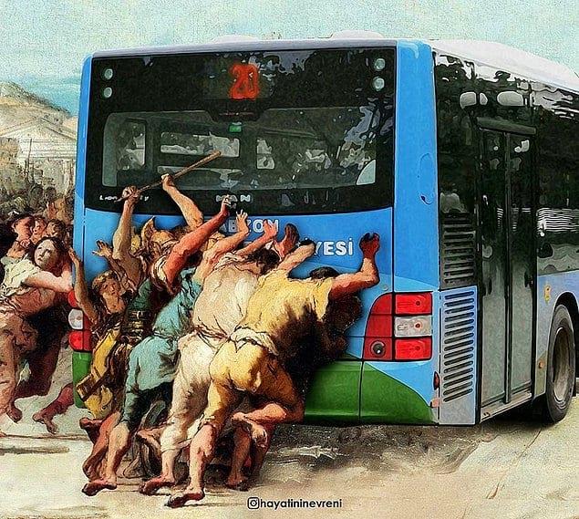 """Процессия автобуса"""