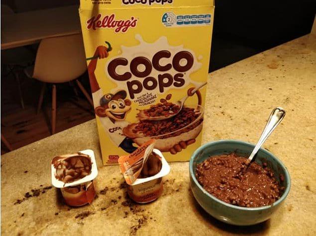 Шоколадный пудинг и сухие завтраки со вкусом шоколада - 👍?