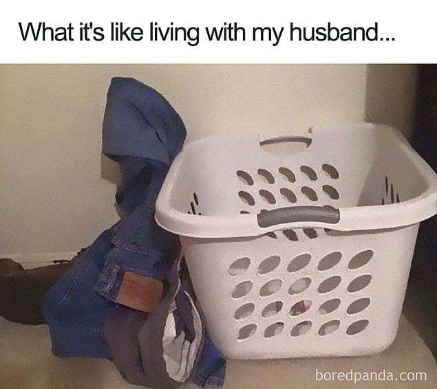 Так выглядит жизнь с моим мужем...