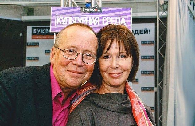 Юрий Вяземский и Евгения Симонова