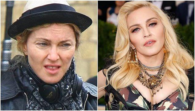 Даже команда пластических хирургов и визажистов Мадонны не властны над временем
