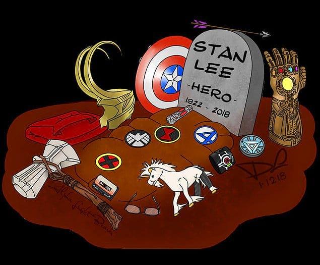 Каждый герой что-то ему оставил.