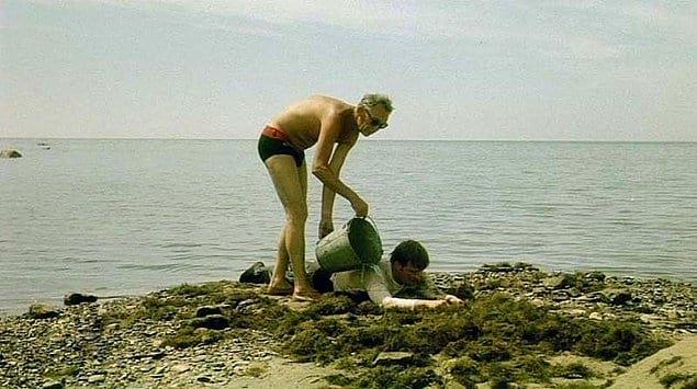 Леонид Гайдай и Андрей Миронов на съемках фильма «Бриллиантовая рука».