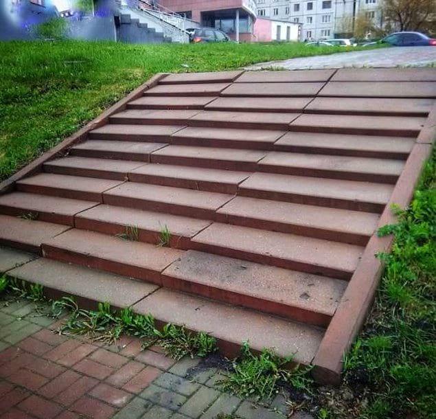 Лестница для неслабых духом
