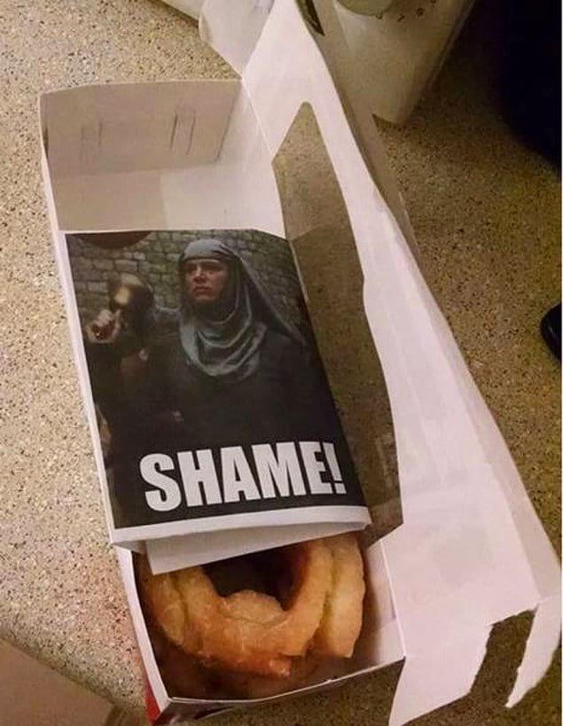 """""""Оставил послание для жены, которая думала, что сможет спрятать от меня пончики"""""""