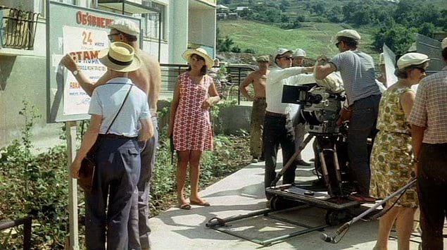 Съемки фильма «Бриллиантовая рука».