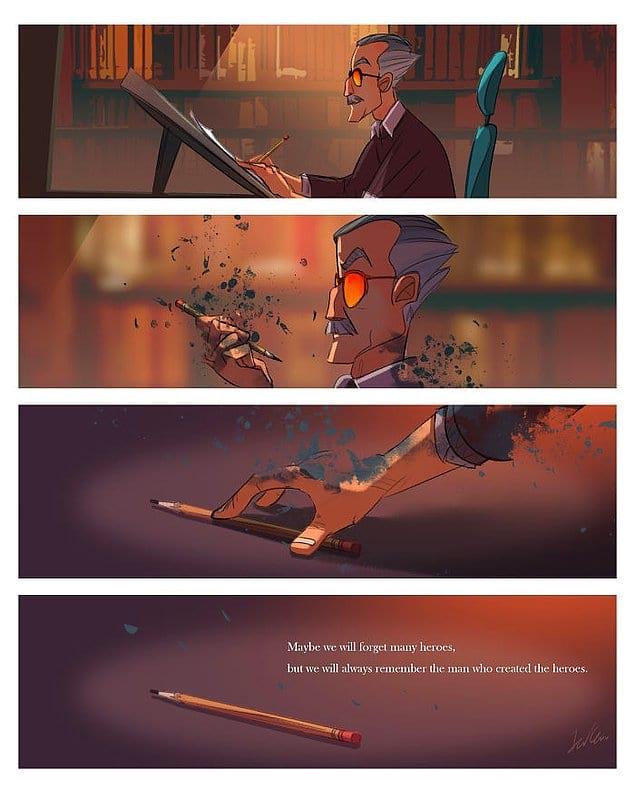 """""""Возможно, мы забудем многих героев, но мы точно не забудем, кто их создал""""."""