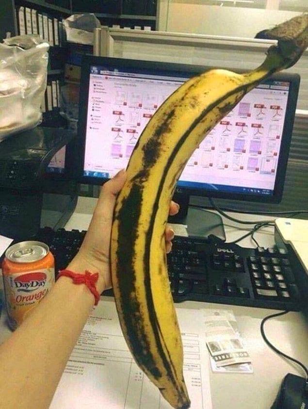 А такой банан?