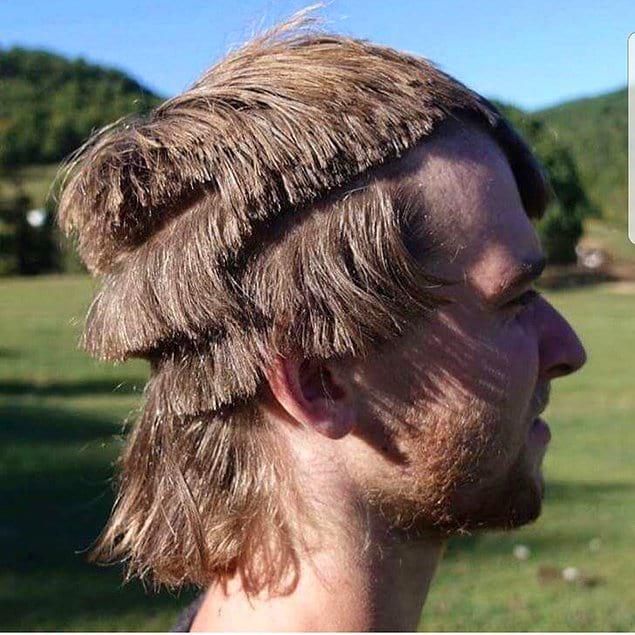 Что он сказал парикмахеру, что в итоге получилось вот это?