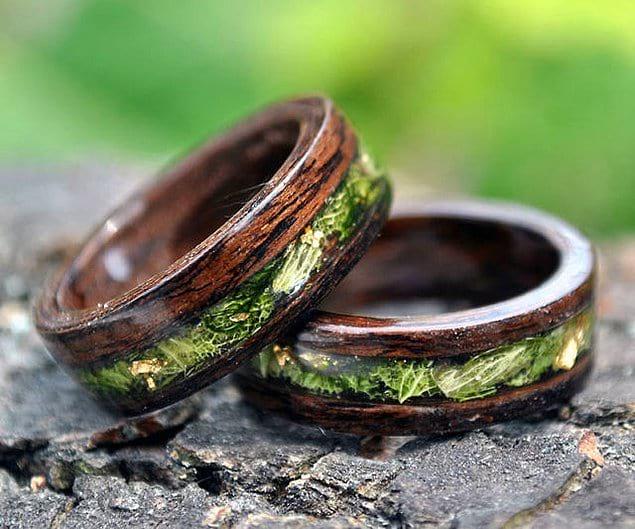 Что получится, если простота и естественность природы встретятся в дизайне обручального кольца?