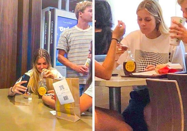 """""""Эта девушка попросила дополнительную порцию сиропа и просто перелила его в свою бутылочку"""""""