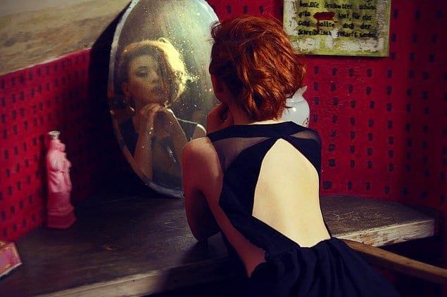 Каждое зеркало продается уже использованным.
