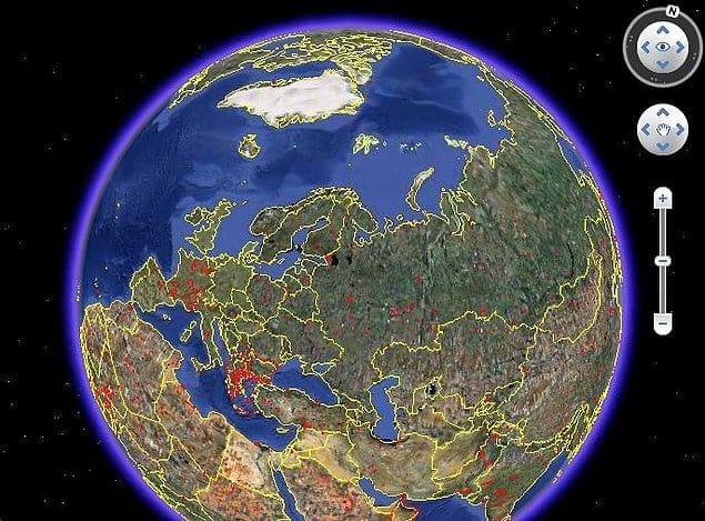 Когда-нибудь в будущем Google Планета Земля сможет показать ученым, как выглядела вся наша планета сотни лет назад.