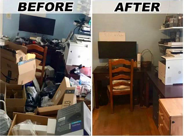 Куча мусора превращается, куча мусора превращается... в комфортабельный домашний офис!