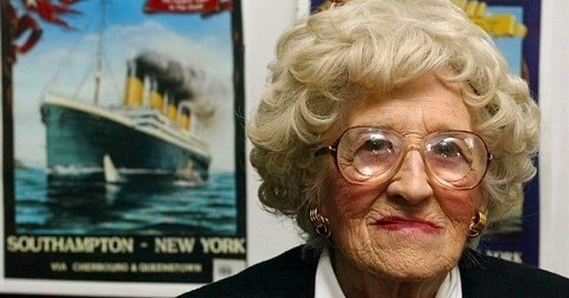 Миллвина Дин, последняя выжившая после катастрофы на Титанике, умерла в 2009 году в возрасте 97 лет.