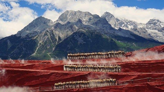 «Танец у подножья горы Юлонг» - Синь Чэн (Китай)