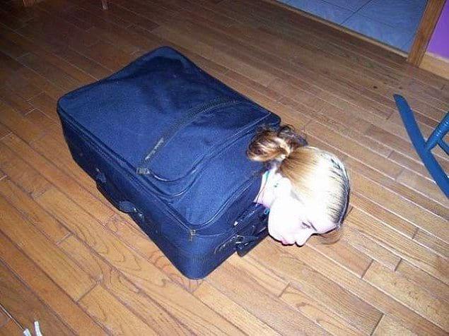 «В старших классах я практически помещалась в чемодан»