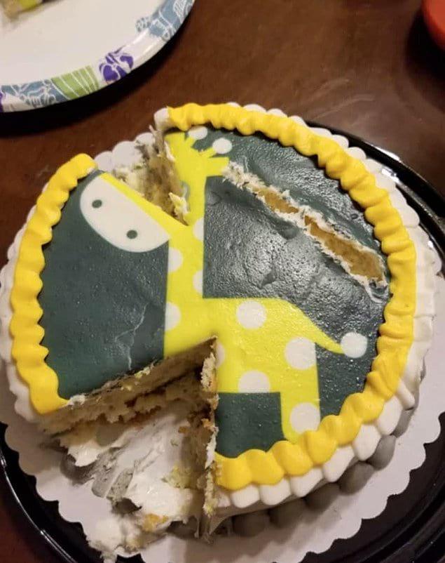 Вот почему мужчине нельзя доверить нарезку торта