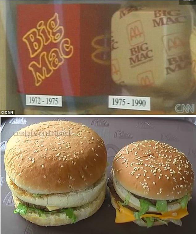 «Биг-Мак» уже совсем не big...