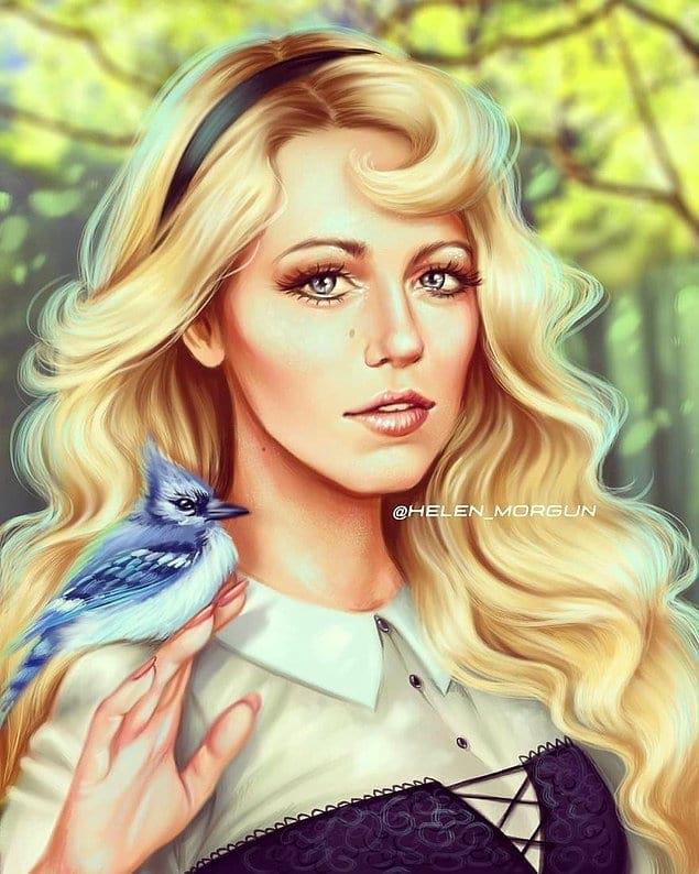 Блейк Лайвли - принцесса Аврора