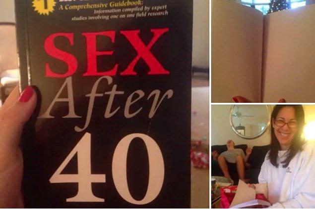 """Что бы подарить жене на день рождения? Книгу """"Секс после 40""""!"""