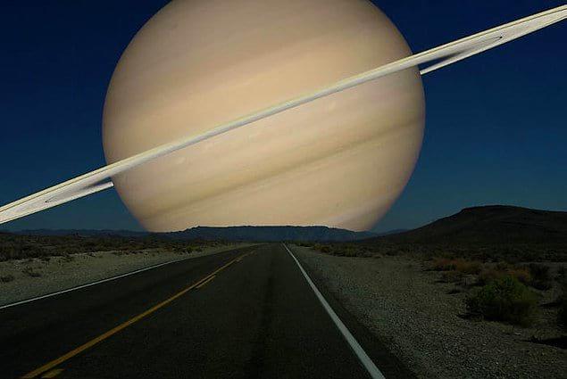 Если бы Луну заменили Сатурном