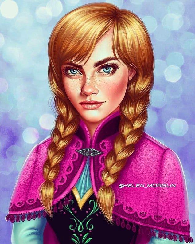 Кара Делевинь - Анна