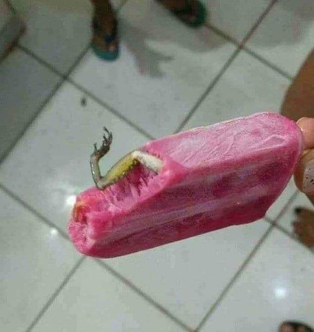 Мороженое с высоким содержанием белка??