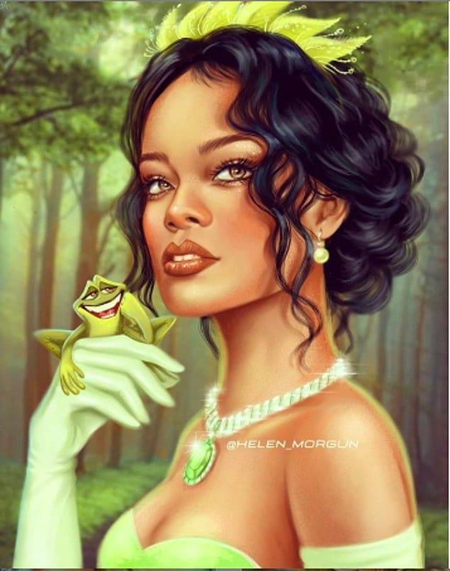 Рианна - принцесса Тиана