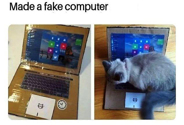 """""""Я сделал фейковый компьютер, и это сработало!"""""""